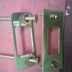 strike plate screws - home security
